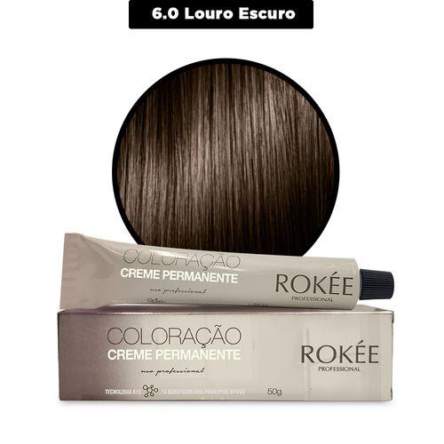 Coloracao-Creme-Permanente-ROKEE-Professional-50g-Louro-Escuro-6-0-Fikbella-142500