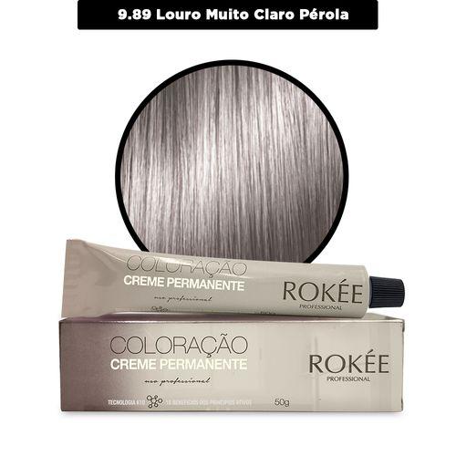 Coloracao-Creme-Permanente-ROKEE-Professional-50g-Louro-Muito-Claro-Perola-9-89-Fikbella-142539