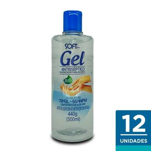 Kit-Alcool-Gel-Higienizador-para-as-MaosSoftMix-C-12un-500ml