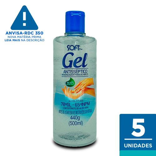 Kit-Alcool-Gel-Higienizador-para-as-Maos-SoftFix-C-6un---500ml-Fikbella-144142