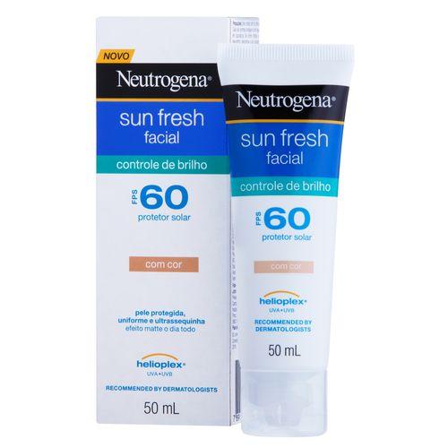 Protetor-Solar-Facial-com-Cor-Neutrogena-Sun-Fresh-Controle-de-Brilho-FPS-60-50ml--Fikbella-125985