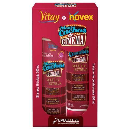Kit-Shampoo---Condicionador-Vitay-Novex-Meus-Cachos-de-Cinema---300ml-124907-Fikbella