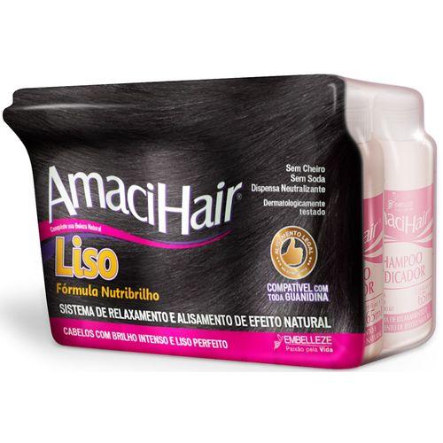 Kit-Relaxante-Amacihair-Baldinho-Liso-Creme-Ativador-Shampoo-Fikbella-