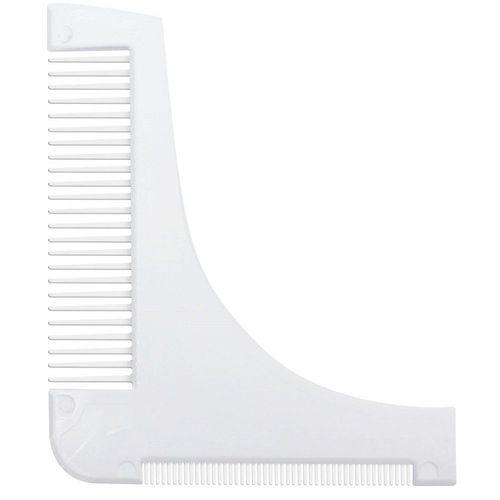 Pente-Modelador-Alinhador-de-Barba-Branco-4436-Santa-Clara-Fikbella-
