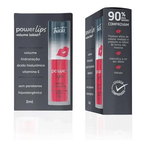 Gloss-Labial-Tracta-Power-Lips-Vermelho---3ml
