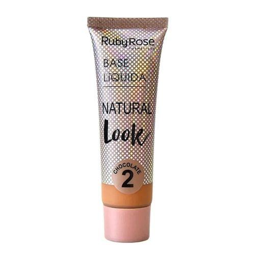 Base-Liquida-Natural-Look-Escuro-Chocolate-Ruby-Rose-Fikbella-136238