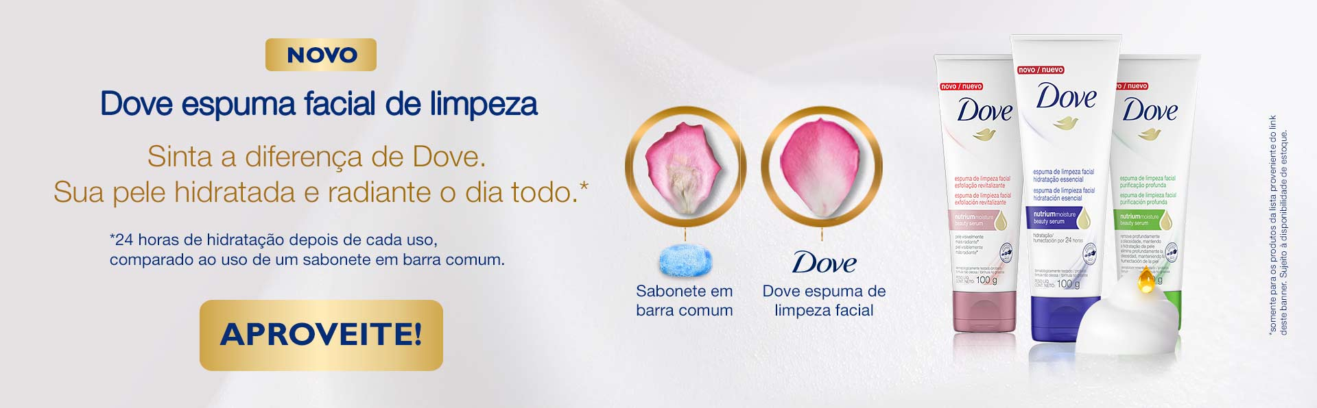 Dove Espuma Facial
