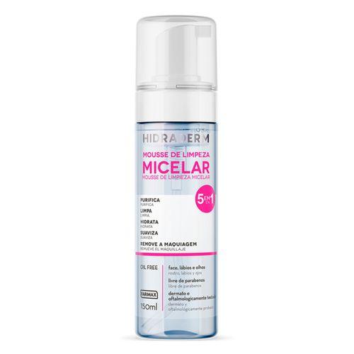 Mousse-Limpeza-Micelar-Hidraderm---150ml---fikbella