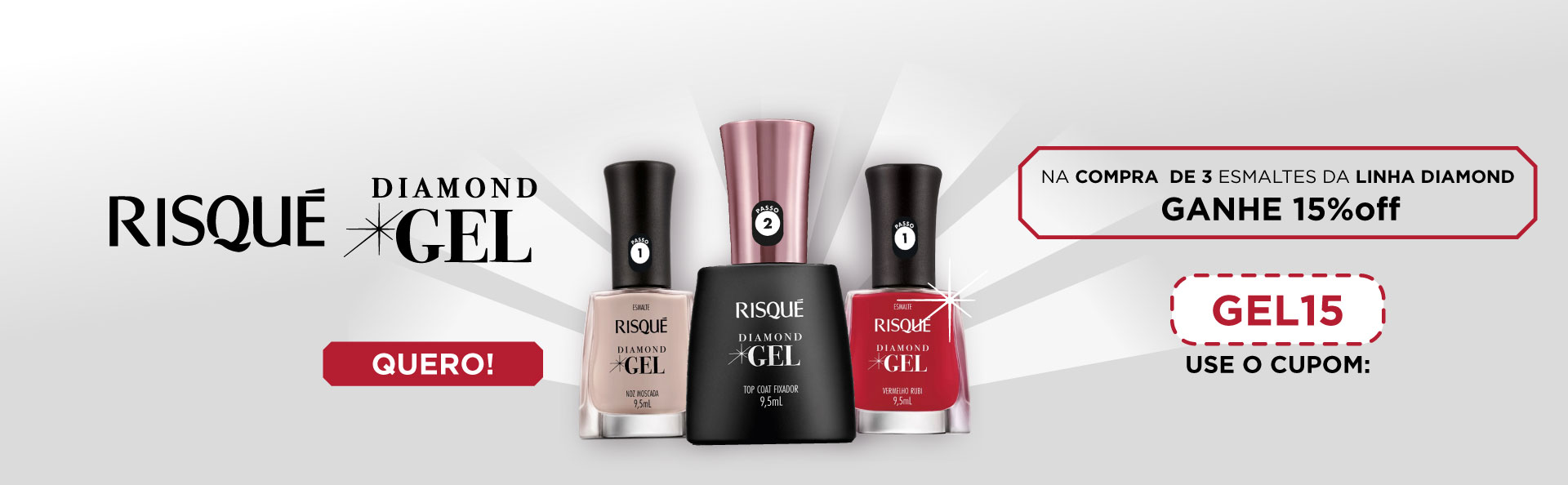 Risque Diamond Gel