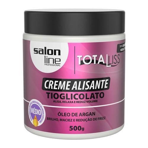Creme-Alisante-Salon-Line-Oleo-de-Argan-Medio-500g-Fikbella-123769