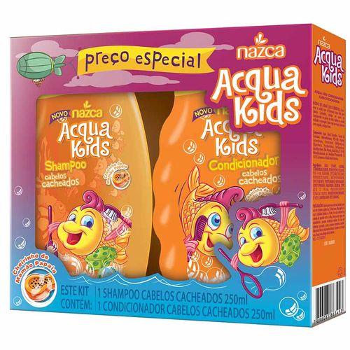 Shampoo---Condicionador-Infantil-Acqua-Kids-Cabelos-Cacheados---250ml-Fikbella
