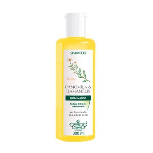 Shampoo-Camomila---Hamamelis-Flores---Vegetais---300ml-Fikbella