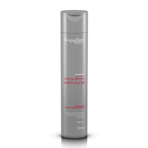 Shampoo-Acquaflora-Reequilibrio-Estrutural---300ml-Fikbella