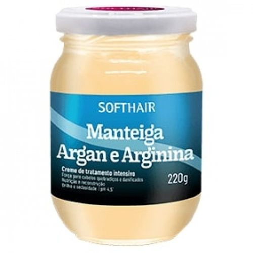 Creme--de-Hidratacao-Manteiga-Argan-e-Argininna-Soft-Hair---220g-Fikbella