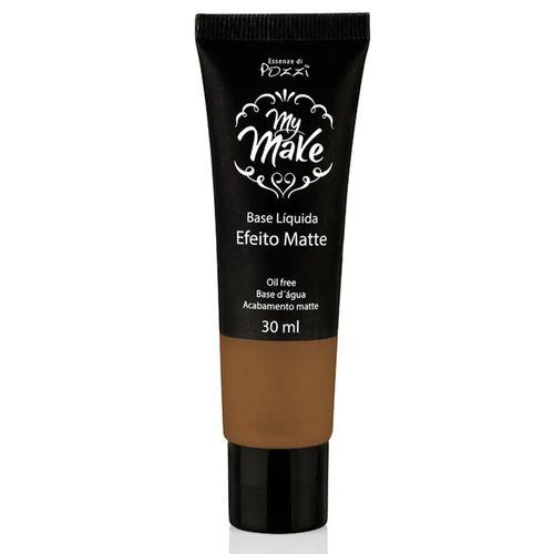 Base-Liquida-Pozzi-Matte-My-Make-Bronze-160-Escuro-30ml-fikbella-121259