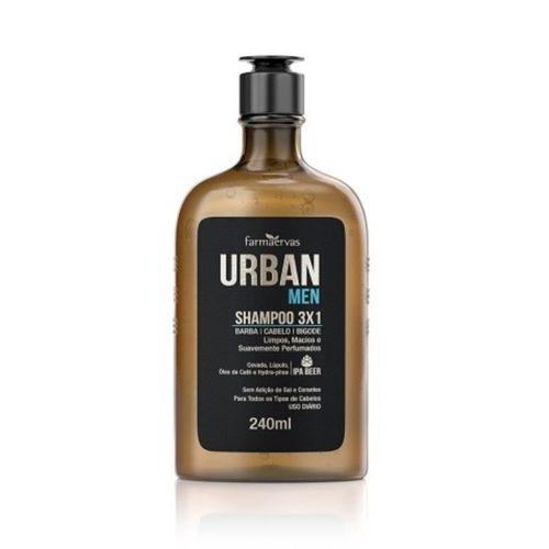 Shampoo-Farmaervas-Urban-Men-3x1---240ml-Fikbella