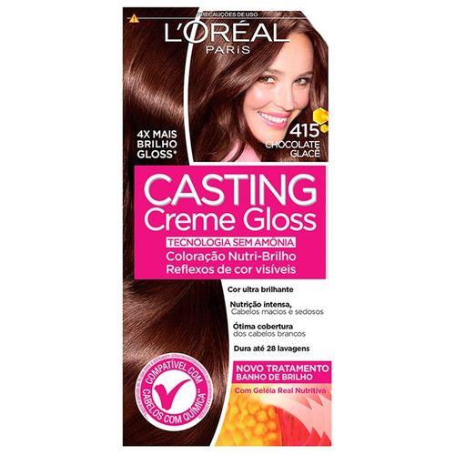 Tintura-L-Oreal-Casting-Gloss-Chocolate-Glace-415-Fikbella