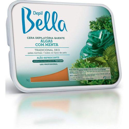 Cera-Depil-Bella-Verde-Algas-Menta---1kG-Fikbella