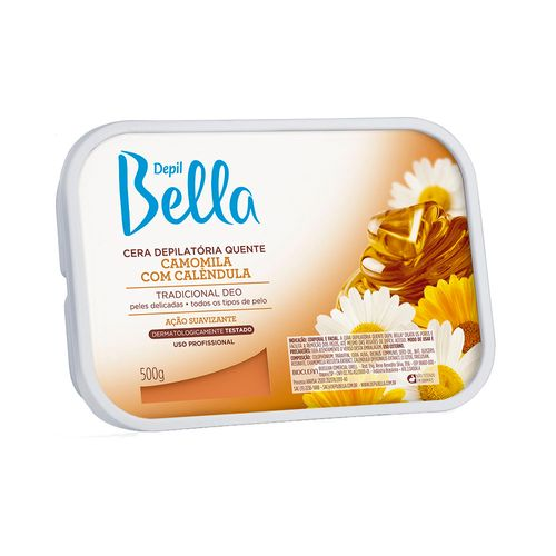 Cera-Depilatoria-Depil-Bela-Camomila---500g-Fikbella