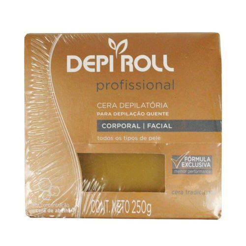 Cera-Depiroll-Amarela---250g-Fikbella