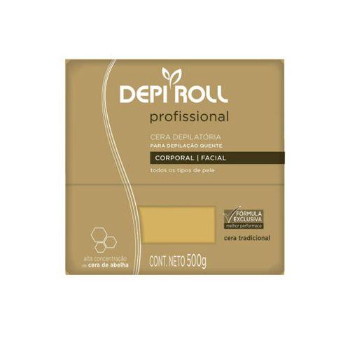 Cera-Depiroll-Amarela---500g-Fikbella
