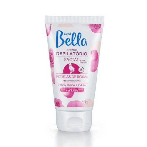 Creme-Dep-Facial-Petalas-de-Rosas-Depil-Bella---40g-Fikbella
