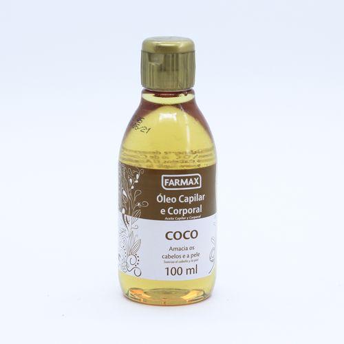 Oleo-Corporal-e-Capilar-Coco-Farmax---100ml-Fikbella