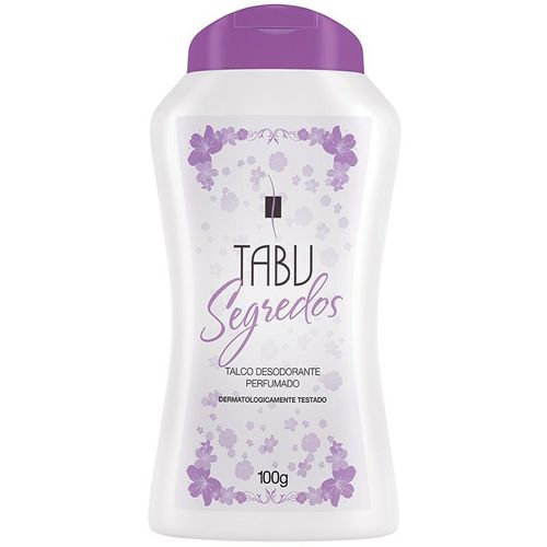 Talco-Segredos-Tabu---100g-Fikbella