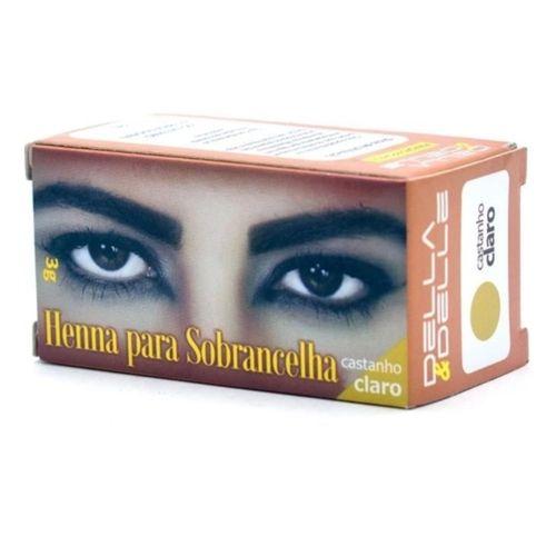 Henna-Castanho-Claro-Della-Delle-3g-fikbella-5031