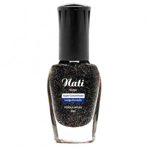 Esmalte-Glitter-Perola-Negra-Nati---8ml-fikbella