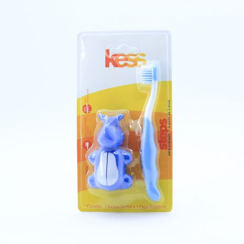 Escova-Dental-Kids-Steps-Kess-com-Capa-Protetora-fikbella-61972