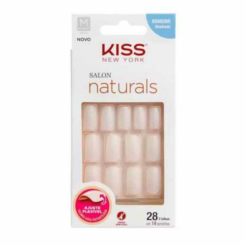 Unha-Salon-Natural-Medio-Quadrado-First-Kiss-fikbella-127556
