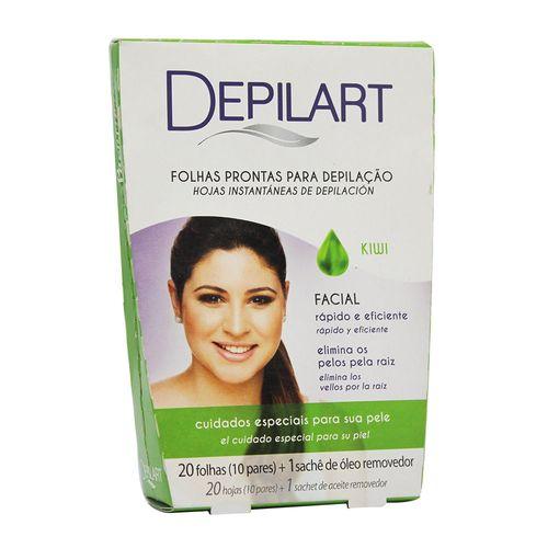 Folhas-para-Depilacao-Facial-Depilart-Kiwi-C-20un-Fikbella