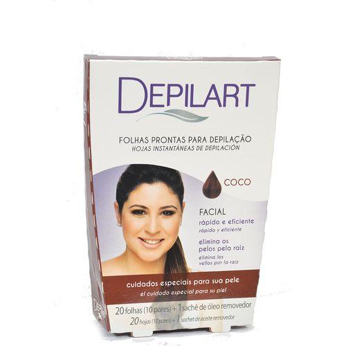 Folhas-para-Depilacao-Facial-Depilart-Coco-C-20un-Fikbella