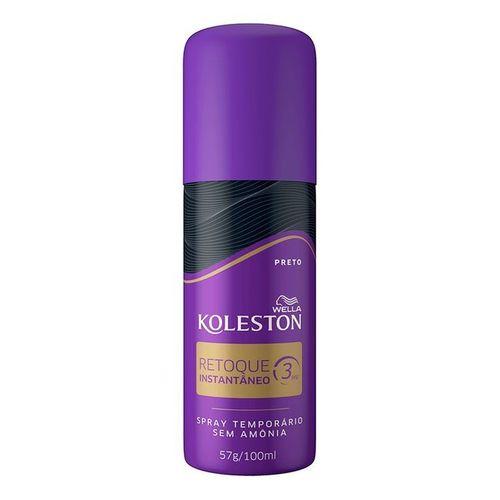 Retoque-Spray-Preto-Koleston---100ml-Fikbella