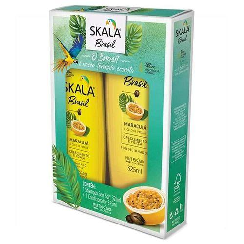 Kit-Shampoo---Condicionador-Maracuja-e-Pataua-Skala---325ml-Fikbella