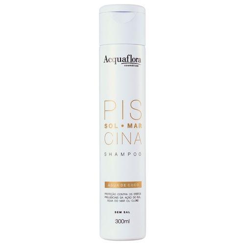Shampoo-sem-Sal-Sol-Mar-Piscina-Acquaflora---300ml-Fikbella