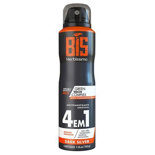Desodorante-Antitranspirante-Aerosol-Dark-Silver-Herbissimo---150ml-Fikbella