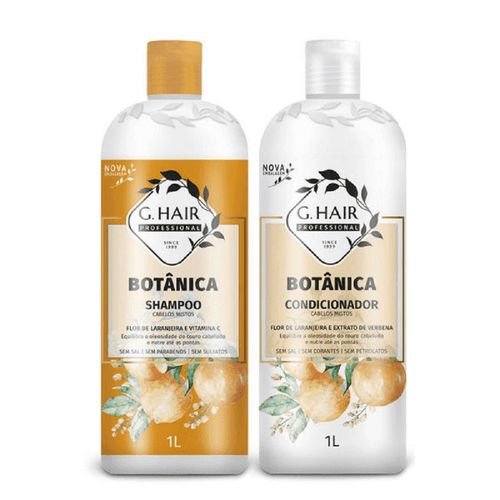 Kit-Shampoo---Condicionador-Botanica-Cabelo-Misto--G-Hair---1L-Fikbella