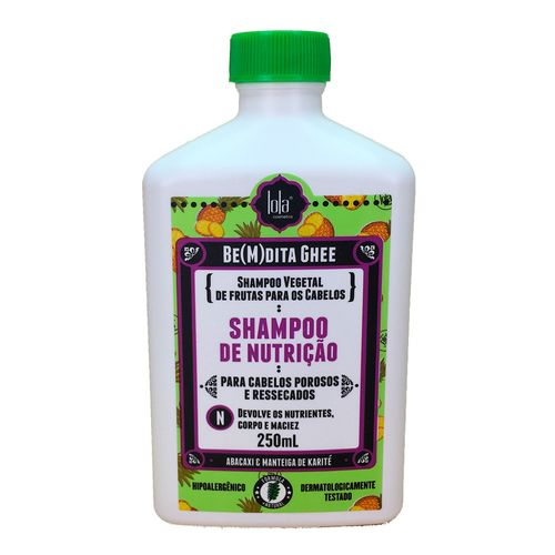Shampoo-Lola-Cosmetics-Be-M-dita-Ghee-de-Nutricao-Abacaxi-Girassol---Manteiga-de-Cacau---250ml-fikbella