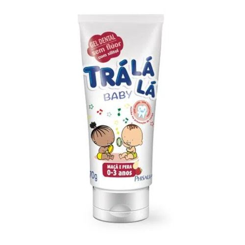Gel-Dental-Sem-Maca-e-Pera-Fluor-Tra-La-La-Baby---70g-fikbella-138275