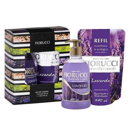 Kit-Sabonete-Liquido---Refil-Lavanda-Natural-Look---500ml-Fikbella