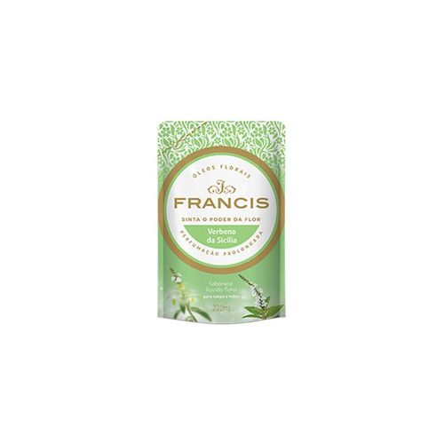 Refil-Sabonete-Liquido-Francis-Verbena-da-Sicilia---220ml-Fikbella