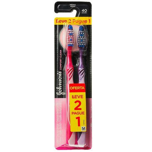 Escova-Dental-Johnson-s-Reach-Comfort-Clean-Media-Leve-2-Pague-1-Fikbella