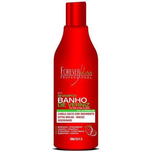 Shampoo-Forever-Liss-Banho-de-Verniz-Morango---500ml-Fikbella