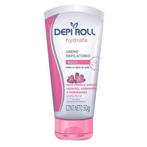 Creme-Depilatorio-Corporal-DepiRoll-Hydrate-Floral---100g-Fikbella