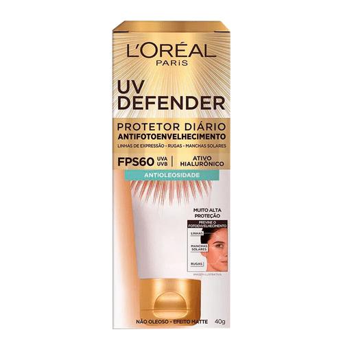 Protetor-Solar-Facial-Defender-Antioleosidade-L-Oreal-Paris---40g-fikbella