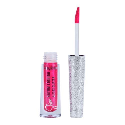 Batom-Liquido-Kisses-Glitter-367-Ruby-Rose---21ml-fikbella-145632-1-