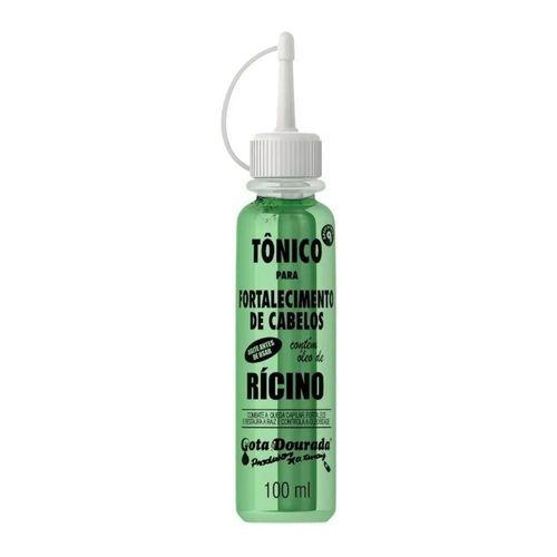 Tonico-Capilar-Para-Fortalecimento-Com-Oleo-de-Ricino-Gota-Dourada---100ml-fikbella-146090