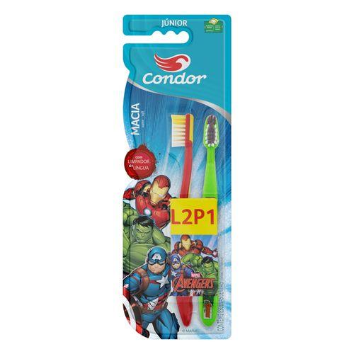 Kit-Escova-Dental-Kids-Avengers-Condor---Leve-2-Pague-1-Fikbella-145966